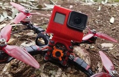 GoPro Hero4 Hero5 Session Case Mount for freestyle quads with frame ramps FPV