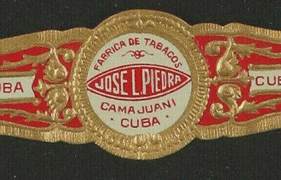 379cRt-VITOLA-Cigar Band-Marca JOSE L. PIEDRA, FABRICA DE TABACOS, CAMA JUANI, C