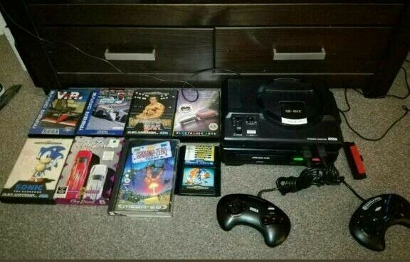 Sega Mega CD, Boxed, Mega Drive 1, 14 Games In Total, RARE ITEM | in Xbox Internal Fuse on