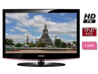 """Samsung 32"""" inch HD LCD TV with Freeview Built in, 3 x HDMI not 28, 37, 39 May Deliver Locally"""