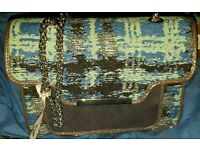 Blue Mix Handbag for sale