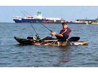 Galaxy kayak fishing