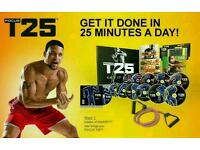 Brand new T25 Alpha,Beta and Gamma only £35 one set only!