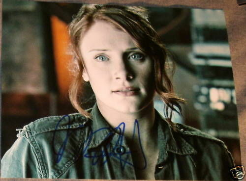 BRYCE DALLAS HOWARD AUTOGRAPH SIGNED TERMINATOR PHOTO C