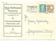 Postkarte Magdeburg