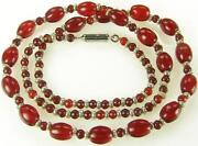 Czech Glass Bead Necklace
