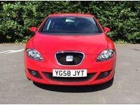 2008 Seat Leon 1.9TDI Stylance 5 Door - Red - Excellent Condition - No Mods - 12 Months MOT