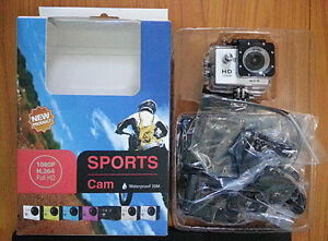 Full HD 1080P 170° Wide Lens Sport Action Recorder Camera