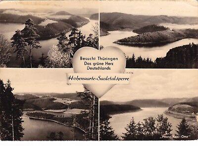 Hohenwarte - Saaletalsperre , DDR , Ansichtskarte