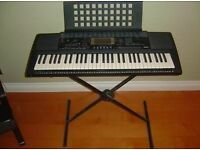 Yamaha PSR - 420 Portatone Electric Keyboard & Stand