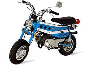 Looking for old honda suzuki Kawasaki yamaha mini bikes