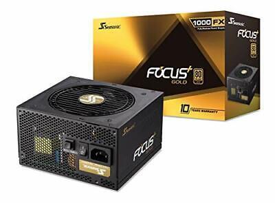 Seasonic FOCUSGX-1000(SSR-1000FX) Focus Gx-1000, 1000w 80+ Gold, Full-modular,
