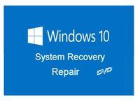 WINDOWS 10 32/64BIT REPAIR, RESTORE OR INSTALL BOOTABLE DISC DVD DISK