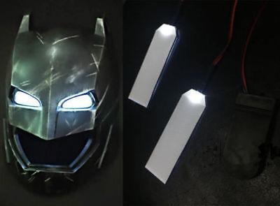 1PC 1:1 IRONMAN/ BATMAN/BLACK PANTHER LED LIGHT EYES HELMET DIY EYES 4 COLORS