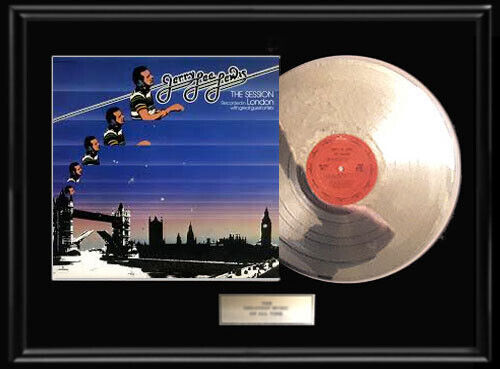 JERRY LEE LEWIS LONDON SESSIONS LP WHITE GOLD SILVER PLATINUM TONED RECORD RARE