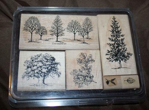 Stampin Up Lovely As A Tree Ebay