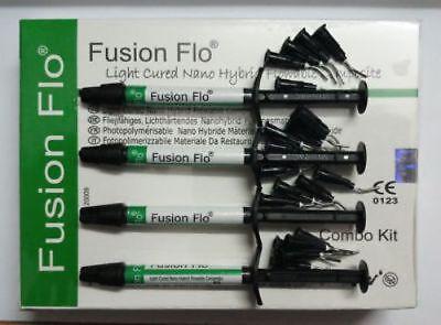Fusion Flo Light Cured Nano Hybrid Flowable Composite Dental Use Free Shipps1