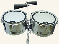 Bauer Percussion Professional Timbale Drums 14,15