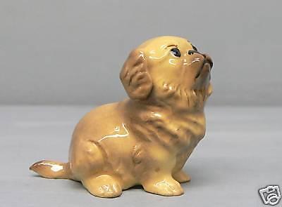 Hagen Renaker DW Pedigree Pekingese Puppy Dog