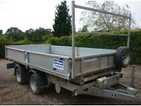 ifor williams 2010 12x6 tipper trailer