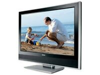 """TV - Toshiba 32WLT66 32"""" Widescreen Pictureframe HD Ready LCD TV - With Freeview- Black"""