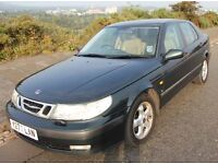 SAAB 9-5 SE Auto, 1985cc, leather seats, cruise control, elec windows,only 2 owners, first regd 2001