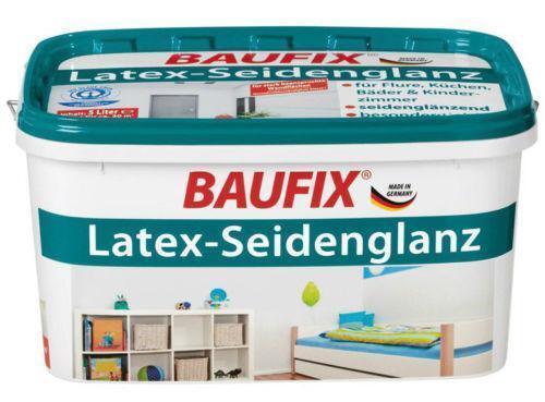 latexfarbe seidenglanz wohnraumfarben ebay. Black Bedroom Furniture Sets. Home Design Ideas