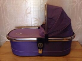 iCandy Peach Main Carrycot Parma Violet - can post