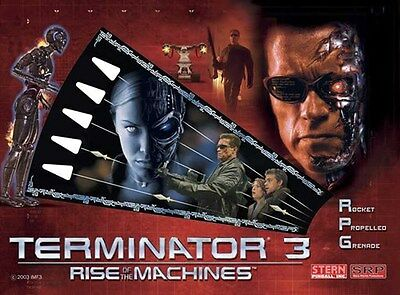 TERMINATOR 3 Complete LED Lighting Kit custom SUPER BRIGHT PINBALL LED KIT