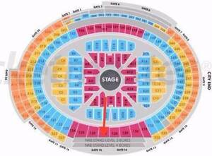 Adele Tickets - NAB stand Bull Creek Melville Area Preview