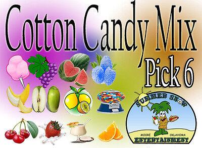 Flossine 6 Cotton Candy Flavor Mix W Sugar Flavoring