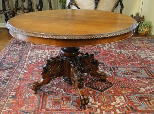 Antique French Dining Table Ebay