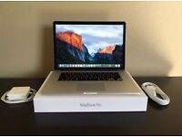 "MacBook Pro 15"" RETINA *High-End* 2.5Ghz Core i7 512 GB SSD 16 GB RAM (Mid 2014)"