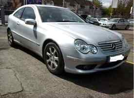 2006 Mercedes Benz C220 CDI Evolution S Silver AUTO MINT CONDITION