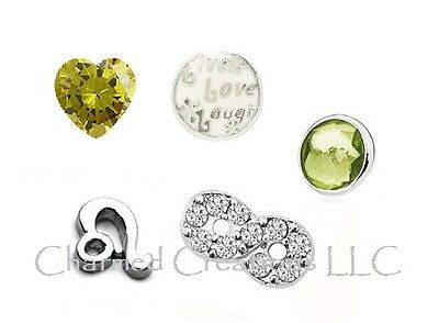 LEO Zodiac Floating Charms For Locket Necklaces And Bracelets July 22 August - Floating Locket Necklace And Floating Charms