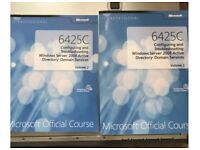 Windows Server 2008 Active Directory Course material books