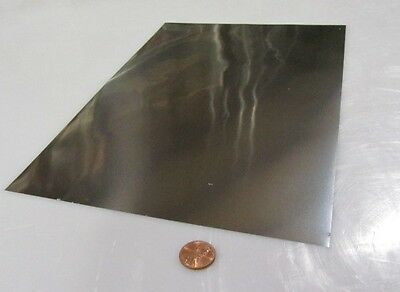 316 Stainless Steel Sheet Annealed .008 Thick X 8.0 Width X 12.0 Length