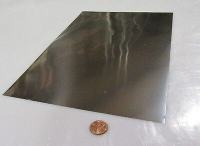 316 Stainless Steel Sheet Annealed .002 Thick X 8.0 W X 12.0 Length 2 Unit