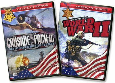 WWII: American Honor: Big Battles of WWII / Crusade in the Pacific (4-DVD)