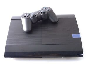 Sony Playstation 3 Super Slim Video Game System 12GB - Black