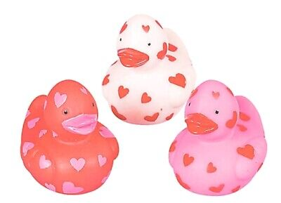 Mini Rubber Duckies (Mini Valentine Rubber Duckies Set of 3  *Free S/H Buy More Save)