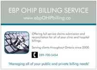 Physician & Group OHIP Billing Service