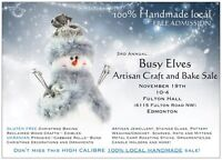 CALL FOR TABLES Busy Elves Artisan Craft Sale