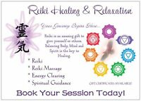Reiki Healing and Relaxation
