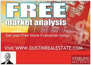 FREE MARKET ANALYSIS- Find out what your home is worth today!