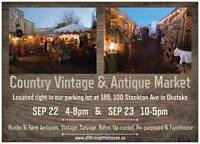 Country Vintage and Antique Market - Fall Equinox Edition