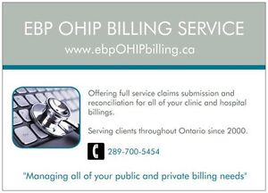 Physician & Group OHIP Billing Service Peterborough Peterborough Area image 1