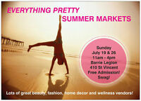 VENDORS WANTED: EVERYTHING PRETTY SUMMER MARKETS