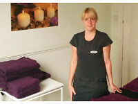 Highly rated Body Massage, Aromatherapy & Reflexology near Doncaster Town Centre - from only £10!