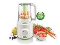 Philips Avent SCF870/21 Combined Baby Food Processor Steamer and Blender - Mint Condition